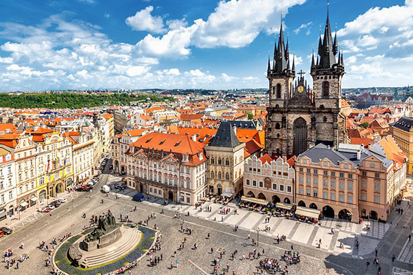 best cities to flirt in, prague