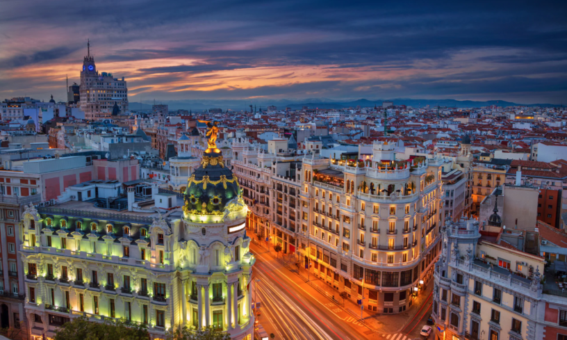 best cities to flirt in, madrid