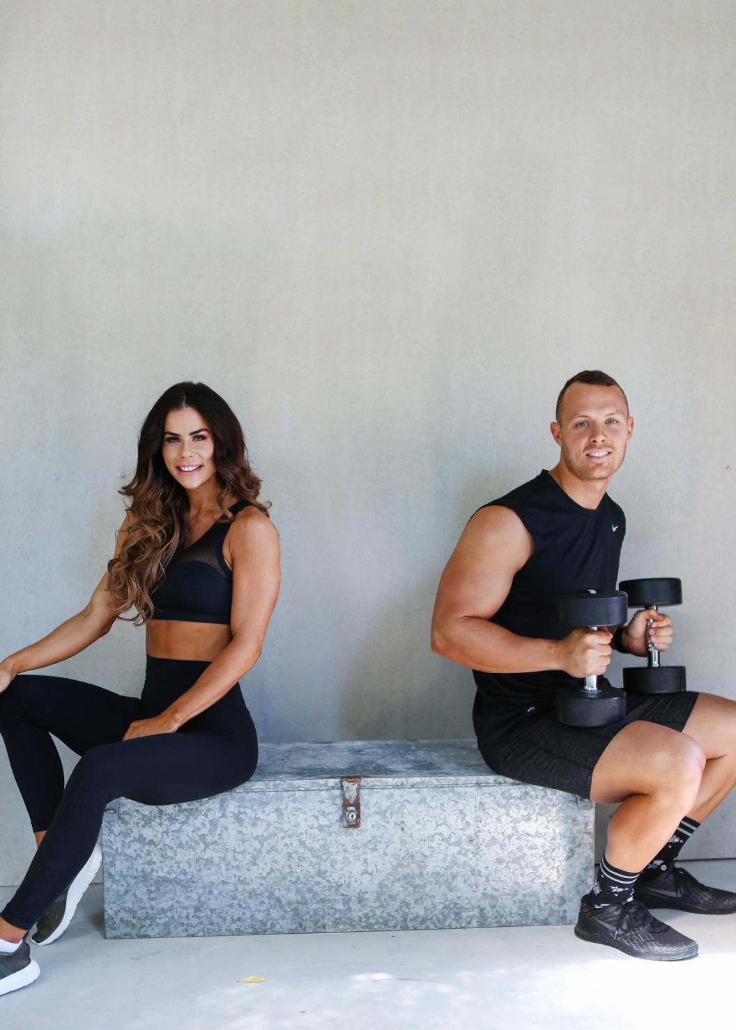 couples that exercise together have better relationships, couple eating together