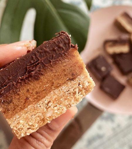 Raw GF Chocolate Caramel Slice Recipe